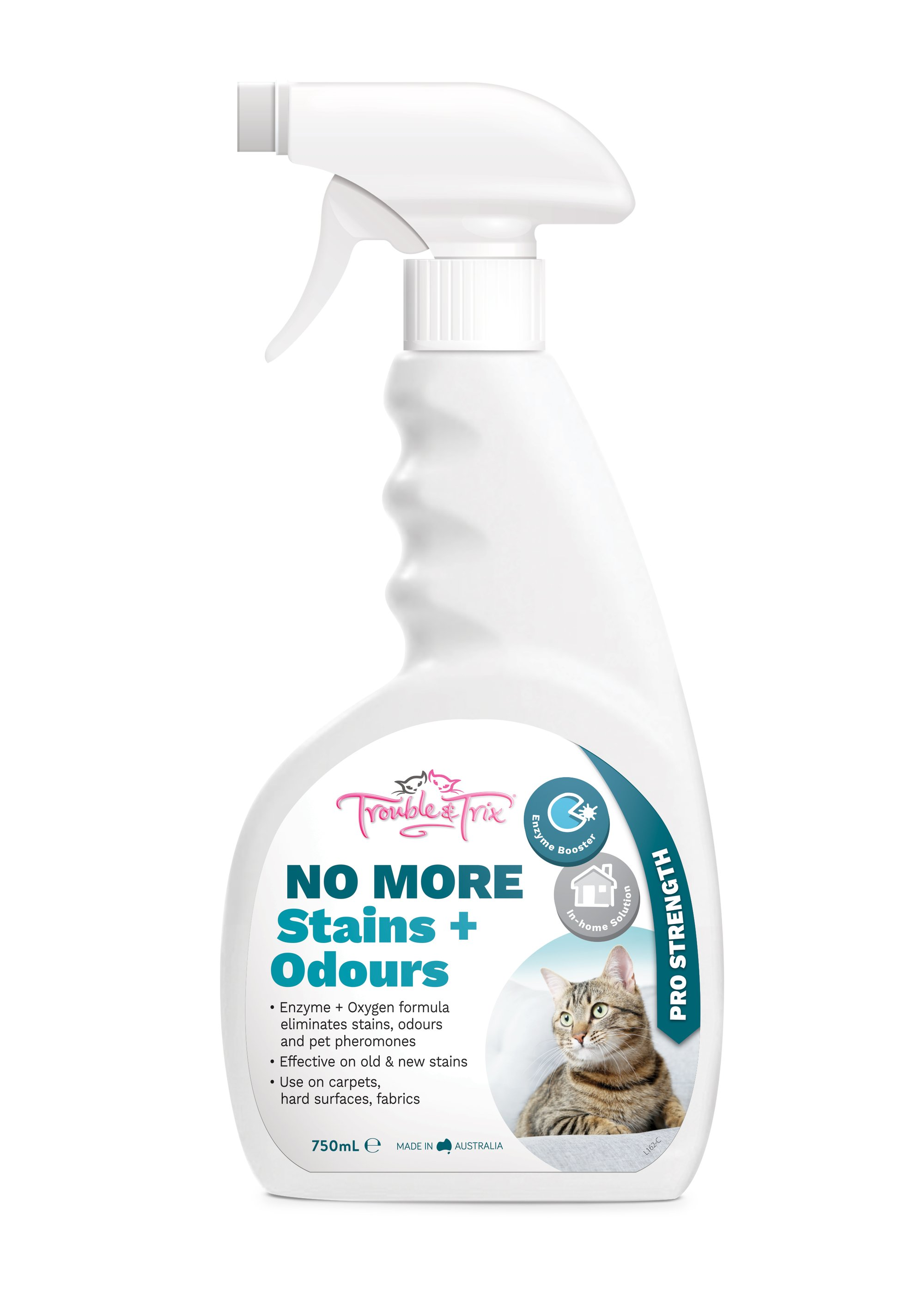 Cat Clean Up, Odour Control