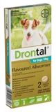 Drontal Dog All Wormer Up To 10kg-worm-treatments-The Pet Centre
