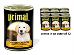 Primal Can Puppy Chicken Salmon & Mussel 390g-wet-food-The Pet Centre
