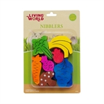 Living World Nibblers Wood Chews - Fruit & Vegie-small-animal-The Pet Centre
