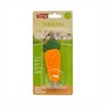 Living World Nibblers Wood Chews - Carrot On Stick-small-animal-The Pet Centre