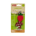 Living World Nibblers Wood Chews -  Strawberry & Mushroom-small-animal-The Pet Centre