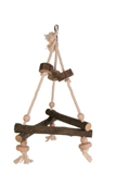 Natural Triangle Swing 27cm-rope-The Pet Centre