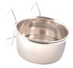 Stainless Steel Coop Cup & Holder - 0.15L 8cm-bowls-The Pet Centre