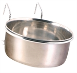 Stainless Steel Coop Cup & Holder -0.9L 15cm-bowls-The Pet Centre