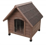 Classic Wood Kennel Large-kennels-The Pet Centre