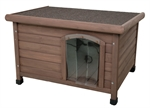 Masterpet Flat Roof Kennel - Medium-dog-The Pet Centre