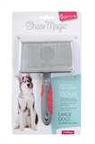 Shear Magic Slicker Large-brushes-and-combs-The Pet Centre