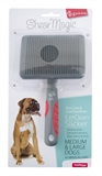 ShearMagic EzClean Slicker Medium/Large-brushes-and-combs-The Pet Centre