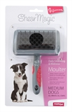 Shear Magic Moult Brush Medium-brushes-and-combs-The Pet Centre