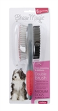 Shear Magic Brush Double Medium-brushes-and-combs-The Pet Centre