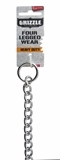 Yours Droolly Check Chain Heavy 55cmX3.5mm-training-The Pet Centre
