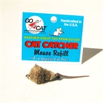 Go Cat Cat Catcher Replacement Fur Mouse-teasers-The Pet Centre