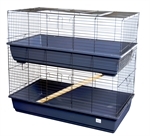 2 Storey Indoor Small Pet Home-hutches-|-housing-The Pet Centre