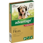 Advantage Flea Treatment for Dogs 10-25kg 4 pack-dog-The Pet Centre