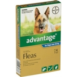 Advantage Flea Treatment for Dogs over 25kg 4 pack-dog-The Pet Centre