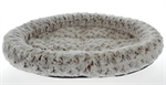 Latte Oval Swirl Bed Large-cat-The Pet Centre