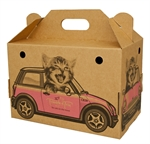 Trouble & Trix Animobile Box-cardboard-The Pet Centre