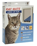 Catmate Door Cat  Large - White-doors-|-carriers-The Pet Centre