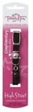 Trouble & Trix Cat Collar High Street Stretch Black-fashion-The Pet Centre