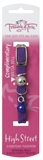Trouble & Trix Cat Collar High Street Stretch Purple-fashion-The Pet Centre