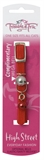 Trouble & Trix Cat Collar High Street Stretch Red-fashion-The Pet Centre