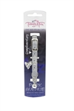 Trouble & Trix Cat Collar Park Ave Stars Silver-reflective-The Pet Centre