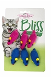 Trouble & Trix Bliss Mice 6pk-catnip-The Pet Centre