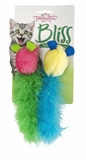 Trouble & Trix Bliss Tweet Mice2pk-catnip-The Pet Centre