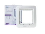 Sureflap Microchip Pet Door - White-microchip-The Pet Centre