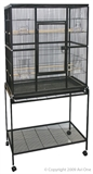 Avi One Square Bird Cage with Stand-bird-The Pet Centre