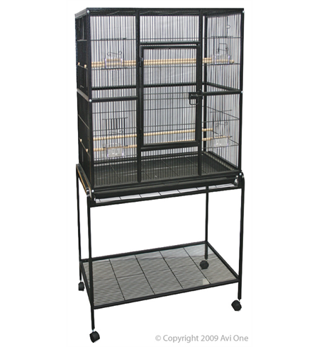 Avi One Square Bird Cage with Stand
