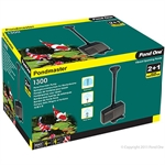 Pondmaster MK2 1300PH 1100L/HR 1.4M-pond-care-The Pet Centre