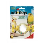 JW Insight Rattle Mirror Bird Toy-plastic-The Pet Centre