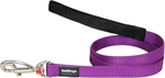 Red Dingo Lead Purple 20mm x 1.2m-standard-The Pet Centre