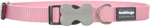 Red Dingo Collar Plain Pink 20mm x 30-47cm-collars-The Pet Centre
