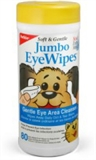 Petkin Jumbo Eye Wipes 80 pack-wipes-The Pet Centre