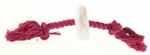 Yours Droolly Rubber Rope & Rawhide Rings 15cm-rope-and-tug-toys-The Pet Centre