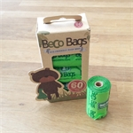 Beco Bags Travel Pack 60 - 4 rolls of 15-poop-bags-The Pet Centre