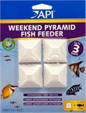 API Weekend Pyramid Fish Feeder 4 pack-fish-The Pet Centre