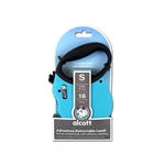 Adventure Retractable Lead Small Blue 4.8m-leads-The Pet Centre