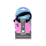 Adventure Retractable Lead Small Pink 4.8m-retractable-The Pet Centre