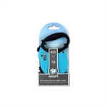 Adventure Retractable Lead X Small Blue 3m-leads-The Pet Centre