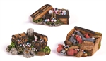 Treasure Chest Assorted - Mini-ornaments-The Pet Centre
