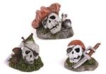 Pirate Skull Assorted - Mini-ornaments-The Pet Centre