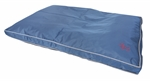 Yours Droolly Outdoor Osteo Bed Navy Large-dog-The Pet Centre
