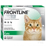 Frontline Cat 6 Pack-flea-|-worm-The Pet Centre