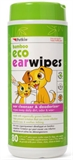 Bamboo Eco Ear Wipes 80 Pack-dog-The Pet Centre