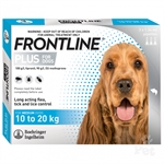 Frontline Dog 10 - 20kg - 3 pack-dog-The Pet Centre