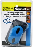 Aqua One Floating Magnetic Glass Cleaner Large-cleaning-The Pet Centre